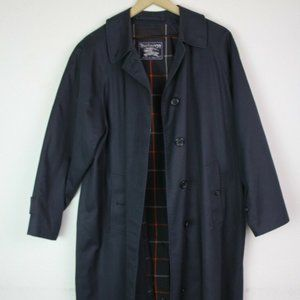 BURBERRY MENS XL CLASSIC VINTAGE TRENCH COAT